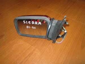 Ford siera 87-90 ηλεκτρικός καθρέπτης αριστερός μπορντό