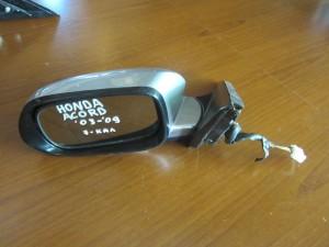 Honda accord 03-09 ηλεκτρικός καθρέπτης αριστερός ασημί (7 καλώδια)