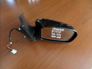 Honda civic 2001-2004 3θυρο ηλεκτρικός καθρέπτης δεξιός μαύρος