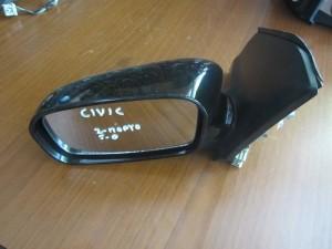 Honda civic 01-04 3θυρο-5θυρο ηλεκτρικός καθρέπτης αριστερός μαύρος