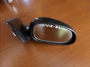 Honda civic 92-95 3θυρο ηλεκτρικός καθρέπτης δεξιός μαύρος