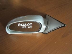 Hyundai accent 03-05 ηλεκτρικός καθρέπτης αριστερός ασημί