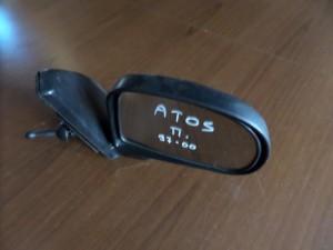 Hyundai atos 97-00 μηχανικός καθρέπτης δεξιός άβαφος