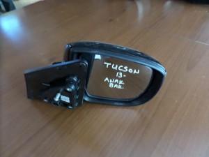 Hyundai tucson 2013 ηλεκτρικός ανακλινόμενος καθρέπτης δεξιός μαύρος (8 ακίδες)