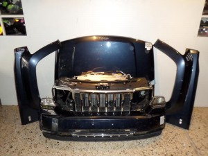 Jeep cherokee liberty 08 μετώπη εμπρός κομπλέ μπλέ σκούρο