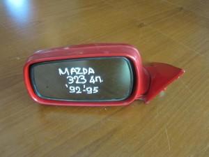 Mazda 323 92-95 sedan ηλεκτρικός καθρέπτης αριστερός κόκκινος