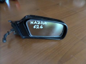 mazda 626 88 michanikos kathreptis dexios mavros 300x225 Mazda 626 1988 1992 μηχανικός καθρέπτης δεξιός μαύρος