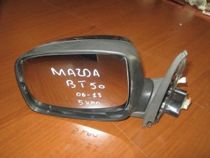 Mazda BT-50 2006-2011 ηλεκτρικός καθρέπτης αριστερός νίκελ (5 καλώδια)