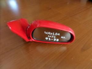 Mazda MX-3 1992-1998 ηλεκτρικός καθρέπτης δεξιός κόκκινος