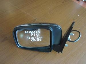 Mazda P/U 2/4WD 03-06 ηλεκτρικός καθρέπτης αριστερός νίκελ