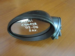 mini cooper 02 06 ilektrikos kathreptis aristeros avafos 5 akides 300x225 Mini Cooper 2001 2006 ηλεκτρικός καθρέπτης αριστερός άβαφος (5 ακίδες)