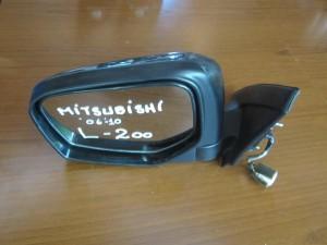 Mitsubishi L200 06-10 ηλεκτρικός καθρέπτης αριστερός ανθρακί (7 καλώδια)
