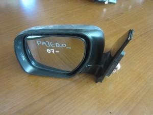 Mitsubishi Pajero 07 2θυρο ηλεκτρικός καθρέπτης αριστερός ασημί (9 καλώδια-φλας)