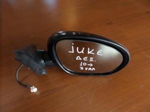 Nissan Juke 2010 ηλεκτρικός καθρέπτης δεξιός μαύρος (3 καλώδια)
