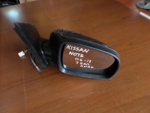 nissan note 06 13 ilektrikos anaklinomenos kathreptis dexios anthraki 7 kalodia 300x225 Nissan Note 2006 2013 ηλεκτρικός ανακλινόμενος καθρέπτης δεξιός ανθρακί (7 καλώδια)