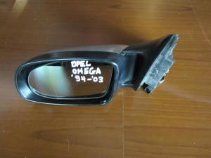 Opel omega B 94-03 ηλεκτρικός καθρέπτης αριστερός ασημί
