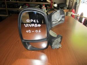 Opel vivaro 02-06 ηλεκτρικός καθρέπτης αριστερός άβαφος