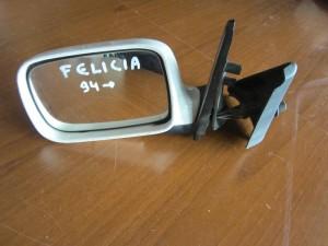 Skoda felicia 94 μηχανικός καθρέπτης αριστερός άσπρος