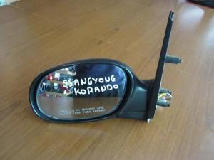 SsangYong Korando 1996-2006 ηλεκτρικός καθρέπτης αριστερός άβαφος (3 καλώδια)