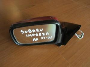 Subaru imbreza 1997-2001 ηλεκτρικός καθρέπτης αριστερός μπορντό (4 καλώδια)