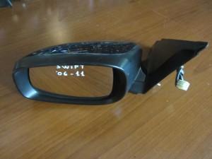 Suzuki Swift 2005-2011 μακρύς ηλεκτρικός καθρέπτης αριστερός σκούρο μπλέ (τετράγωνη φίσα)