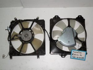 toyota rav 4 01 06 diplo ventilater 300x225 Toyota Rav 4 2001 2006 διπλό βεντιλατέρ