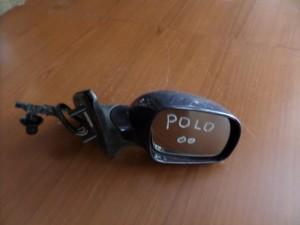 VW polo 99-01 μηχανικός καθρέπτης δεξιός μπλέ σκούρο