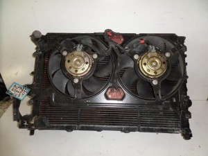 Alfa romeo 147 1.6cc-2.0cc βενζίνη 00-10 ψυγείο κομπλέ (νερού-aircondition-βεντιλατέρ)