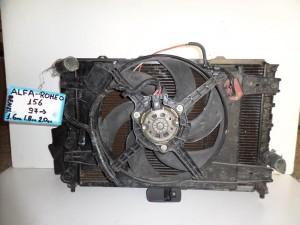 alfa romeo 156 97 1 6 1 8 2 0cc venzini psigio komple nerou air condition ventilater 300x225 Alfa romeo 156 1996 2007 1.6 1.8 2.0cc βενζίνη ψυγείο κομπλέ (νερού air condition βεντιλατέρ)