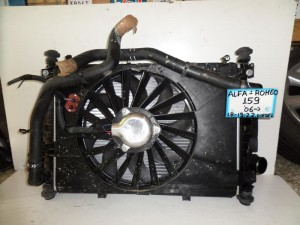 alfa romeo 159 06 1 8 2 2cc diesel psigio komple nerou air condition ventilater intercooler 300x225 Alfa romeo 159 2005 2011 1.8 2.2cc diesel ψυγείο κομπλέ (νερού air condition βεντιλατέρ intercooler)