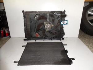 Alfa romeo spider-GTV 96-04 1.8cc-2.0cc βενζίνη ψυγείο κομπλέ (νερού-air condition-βεντιλατέρ)