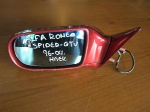 Alfa romeo spider-gtv 96-04 ηλεκτρικός καθρέπτης αριστερός μπορντό