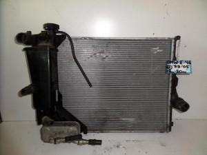 BMW Series 3 E46 1999-2005,Compact 2000-2004 1.8cc-2.0cc βενζίνη ψυγείο κομπλέ (νερού-λαδιού-παγούρι)