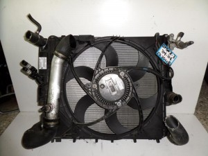 BMW x3 E83 04-07 2.0cc-3.0cc diesel ψυγείο κομπλέ (νερού-air condition-βεντιλατέρ-intercooler-λαδιού)