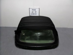 BMW z3 96 κουκούλα ουρανού με πλαστικό μαύρη