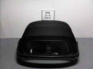 BMW Z4 E85 2003-2009 κουκούλα ουρανού με τζάμι μαύρη