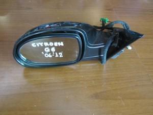 Citroen C6 06-12 ηλεκτρικός ανακλινόμενος καθρέπτης αριστερός μαύρος (13 καλώδια)