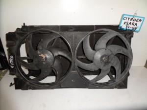 Citroen xsara 97-04 1.9cc diesel ψυγείο κομπλέ (νερού-βεντιλατέρ)