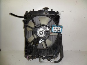 Daihatsu cuore 02-08 1.0cc βενζίνη ψυγείο κομπλέ (νερού-βεντιλατέρ-air condition)