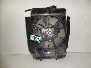 Daihatsu sirion 05 1.0cc-1.3cc βενζίνη ψυγείο κομπλέ (νερού-βεντιλατέρ-air condition)