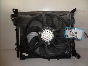 fiat 500 07 1 3cc diesel psigio komple nerou air condition ventilater 300x225 Fiat 500 2007 2016 1.3cc diesel ψυγείο κομπλέ (νερού air condition βεντιλατέρ)