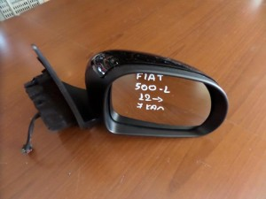 Fiat 500L 2012 ηλεκτρικός καθρέπτης δεξιός μαύρος (7 καλώδια)
