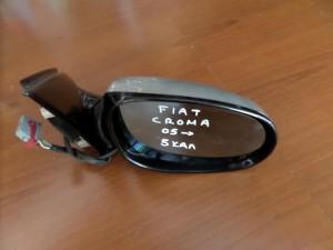 Fiat croma 05 ηλεκτρικός καθρέπτης δεξιός ασημί (5 καλώδια-γαλάζιο πλαίσιο)