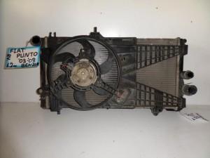 fiat punto 03 09 1 2cc 8v venzini psigio komple nerou air condition ventilater 300x225 Fiat punto 2004 2010 1.2cc 8V βενζίνη ψυγείο κομπλέ (νερού air condition βεντιλατέρ)