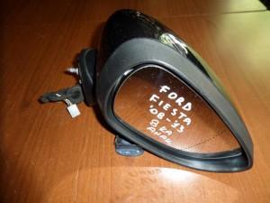 Ford Fiesta 2008-2013 ηλεκτρικός ανακλινόμενος καθρέπτης δεξιός μαύρος (8 καλώδια)