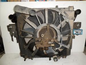 Grand Cherokee 1999-2005 2.7cc diesel ψυγείο κομπλέ (νερού-aircondition-βεντιλατέρ-intercooler-λαδιού)