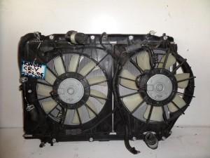 Honda CRV 02-06 2.2cc diesel ψυγείο κομπλέ (νερού-βεντιλατέρ)