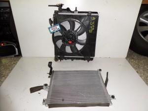 Hyundai atos 97-00 kai Atos prime 00-03 1.0cc βενζίνη ψυγείο κομπλέ (νερού-βεντιλατέρ-air condition)