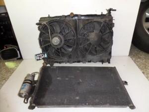 Hyundai coupe 97-01 2.0cc βενζίνη ψυγείο κομπλέ (νερού-βεντιλατέρ-air condition)