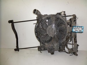 hyundai santa fe 00 06 2 0cc diesel psigio komple intercooler ventilater 300x225 Hyundai santa fe 2000 2006 2.0cc diesel ψυγείο κομπλέ (intercooler βεντιλατέρ)
